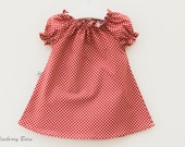 Pretty Peasant Dress: Baby, Girl, - Photo Shoot, Party - 100% Cotton - Ready to Ship 6-12 months