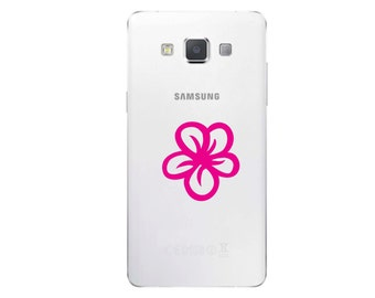 Plumeria Cute Cell Phone Decal #C279