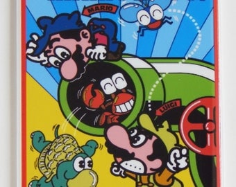 Mario Bros Arcade Side Art Fridge Magnet