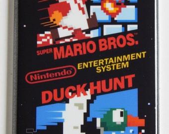 Super Mario Bros / Duck Hunt Video Game Fridge Magnet