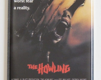 The Howling Movie Poster Fridge Magnet
