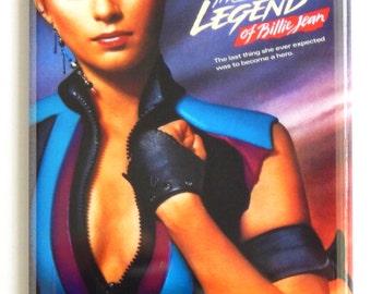 Legend of Billie Jean Movie Poster Fridge Magnet (2 x 3 inches)