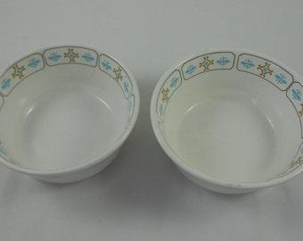 2 TTL – Vintage Shenango Citation SHO270 Cereal Fruit Bowls