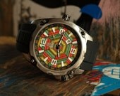 Recycled Skateboard Watch  - Wood Watch - Made in Canada