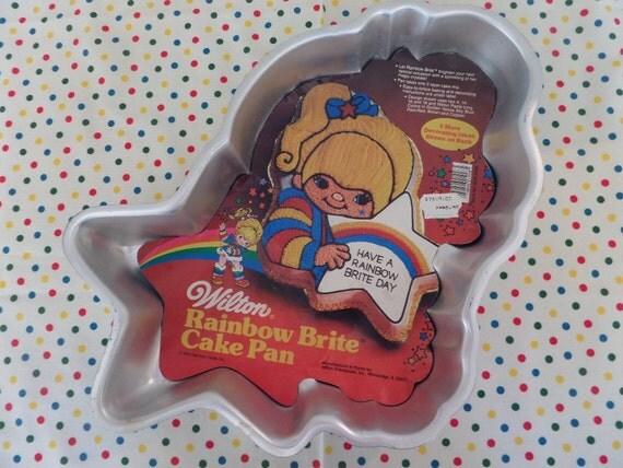 Rainbow Brite Wilton Cake Pan