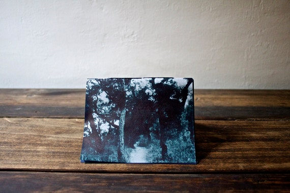 Zine: a Miniature Artist's Book about Seeking Refuge in the Forest