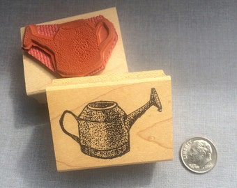 Watercan Rubber Stamp