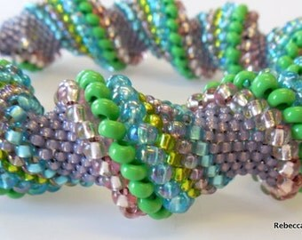 Cheerful Cellini Spiral Bracelet