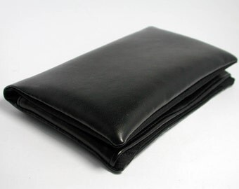 """Tobacco pouch, Wallet, Mobile Phone pouch """"black"""""""
