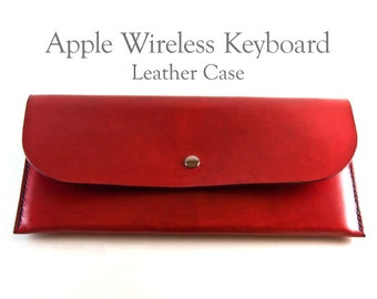 Leather Keyboard Case for Apple Wireless Keyboard