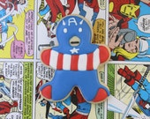 Superhero Party Favors / Gifts for Him / Gifts for Dad / Valentine's Day Gifts for Him / Superhero Sugar Cookies - 12 cookies