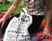 English Dinner Canvas Tote Bag