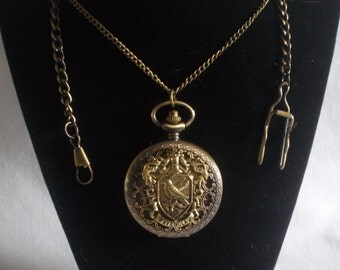 Harry Potter Inspired Ravenclaw Pocket Watch or Watch Necklace - Your Choice