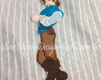 Flynn Ryder Inspired Full Body  TANGLED Patch