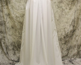 Short Sleeve Chemise, White Chemise Under Dress, Renaissance Fair Chemise, Medieval Dress, Fairy Halloween Costume, Princess Cosplay