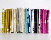 Zephyr Fat Quarter Bundle by Rashida Coleman-Hale for Cotton and Steel Fabrics, COMPLETE