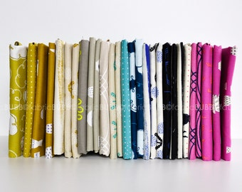 Zephyr Fat Quarter Bundle by Rashida Coleman-Hale for Cotton and Steel Fabrics, COMPLETE