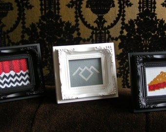 Cross-Stitch Pattern - Twin Peaks Miniatures (PDF)