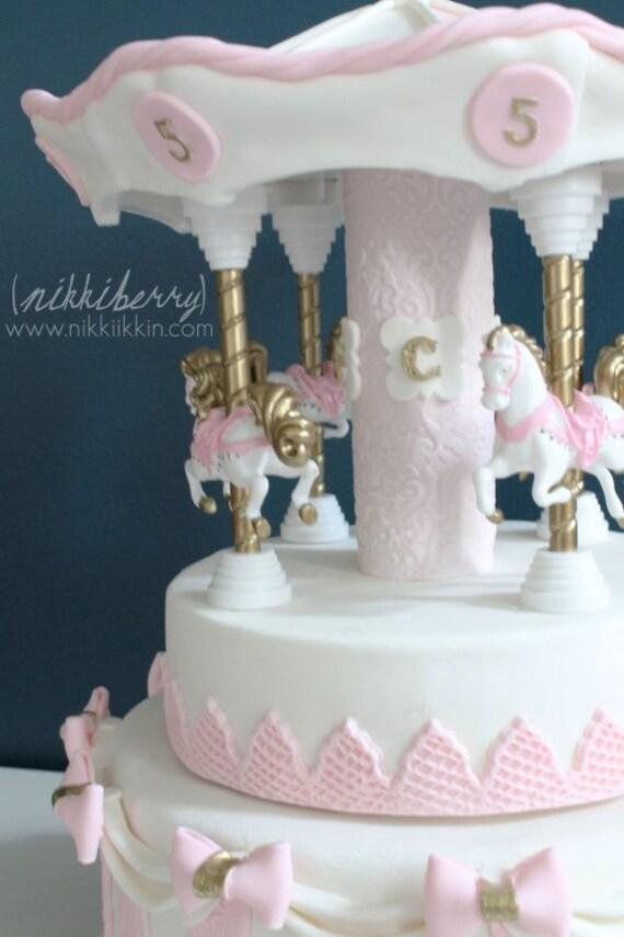 Buy Carousel Cake Topper