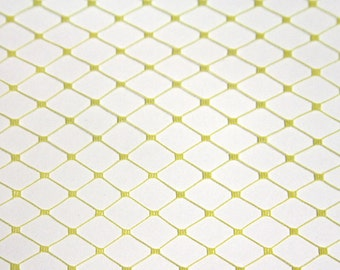 French Netting for Bird Cage Veil - YELLOW
