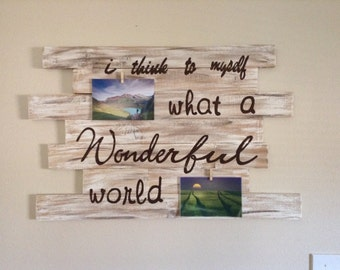 Cypress wood display sign/wooden sign/wood decor/rustic wood sign