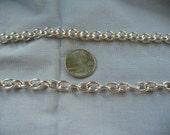 2 silver bracelets