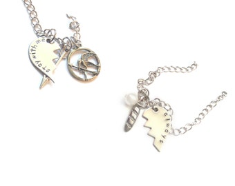 Stay With Me? Always. Lovers/Best Friends Necklaces
