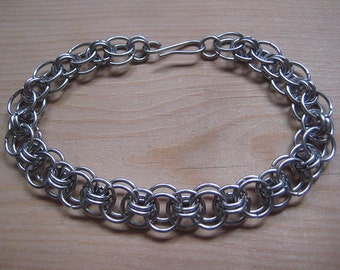 "Stainless Steel ""Helm"" Bracelet"