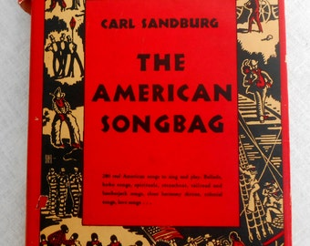 "Vintage 1927 ""The American Songbook"" Carl Sandburg."