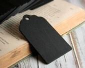 25 Scallop Chalkboard Tags - Set of 25 - Wood Chalkboard Tag