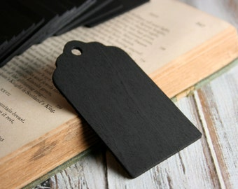 Scallop Chalkboard Tags, Set of 25