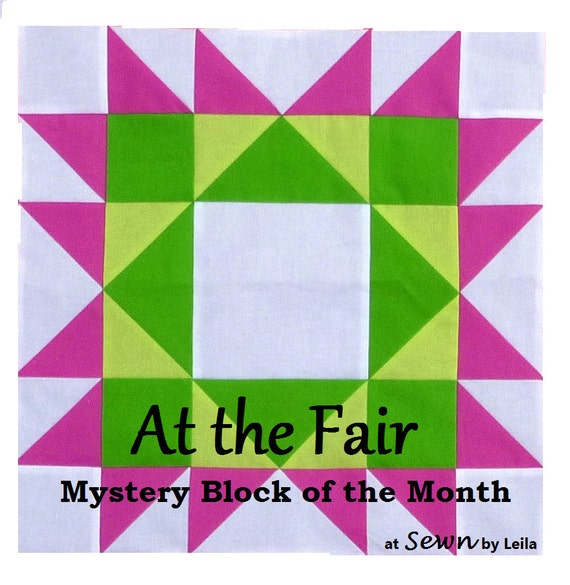At the Fair Block of the Month