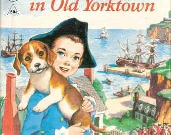 Bugle, A Puppy in Old Yorktown Vintage Rand McNally Tip Top Elf Book Illustrated by Manning de V Lee