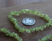 Peridot Stretchy String Bracelet #B65