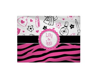 Personalized Spa Day Bath Mat