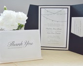Watercolour & Crystals Invitation set