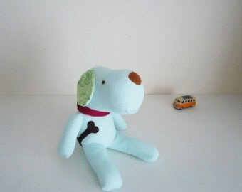 Sock dog **soft green** Sock animal,Sock plushie,Plush toy