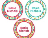 Iron On Labels (2 Sizes), All Things Spring