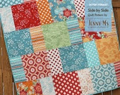 Side By Side, Baby Quilt Pattern, PDF Pattern, Layer Cake, Easy Pattern, Beginning Quilter, Basic Quilt Pattern, Baby Quilt, Two Patterns