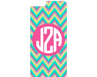 Multi Color Monogram Cell Phone Cover for iPhone and Android