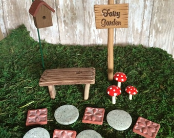 Fairy Garden Kit | Etsy
