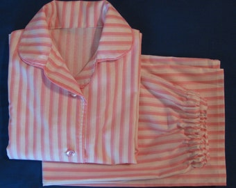 Girls Pajamas Eloise Pink-Striped Girls Jammies PJs