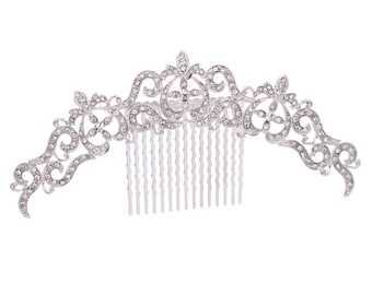 Palace Style Flower Hairpin Comb for Women's Jewelry XBY077 (More Color)