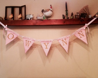 Personalized Baby Shower/Birthday/Wedding Banner