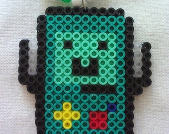 Adventure Time BMO Beemo Kandi Necklace