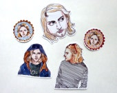 Kurt sticker set (5)