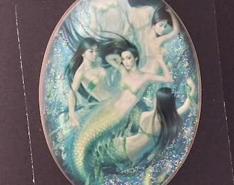 Pictorial Studio Button Mermaids
