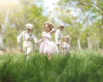BOYS KNICKER PANTS-tan Linen beige knickers for little boys,  linen pants for boys, linen ring bearer pants (sizes 6 months-6 years old)