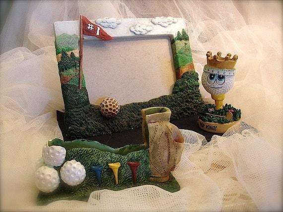 Vintage golf decoration golf photo frame golf home decor Golf decor for home