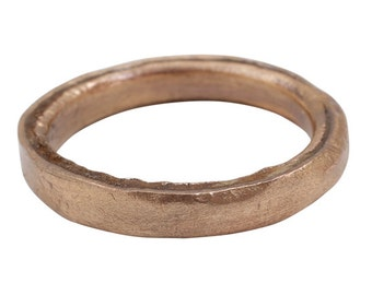 Authentic Ancient Viking Ring Wedding Band  C.900A.D. Size 9  (17.2mm)[PWR1016]